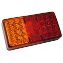 Feu arrière LED - 12/24V