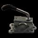Support de roue jockey ø 48 mm - platine renforcée