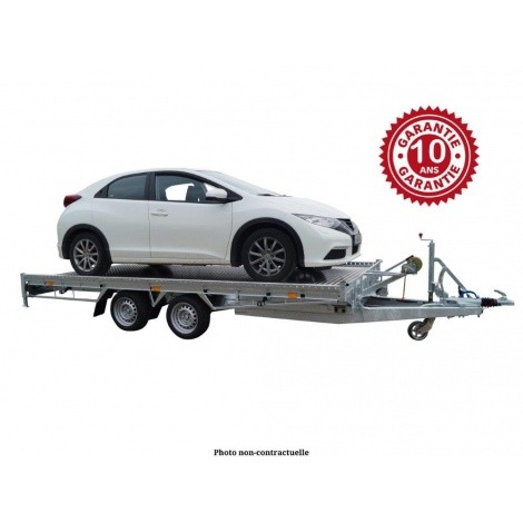 Remorque porte voiture basculante COSTO