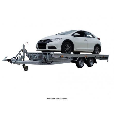 Remorque porte-voiture basculante COSTO à la location