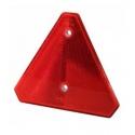 Catadioptre rouge triangulaire