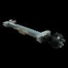 Essieu freiné Knott 1500kg pour remorque et caravane - 1500 kg - 800 mm - 1270 mm (C) - 5x112