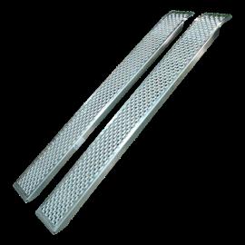 Rampes de chargement droite en aluminium – 1000 kg
