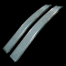 Rampes de chargement courbée en aluminium – 1000 kg