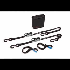 Sangles moto 1800 mm X 25 mm – enroulement automatique – 2 pièces