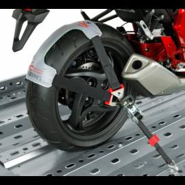 Sangle moto 700/1300 mm - fixation verticale de la roue 250  kg