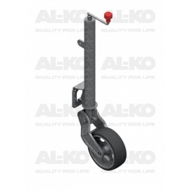 Roue jockey ∅ 60 mm rabattable Al-Ko
