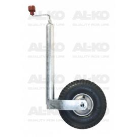 Roue jockey ø 48 mm Al-Ko avec pneu gonflable