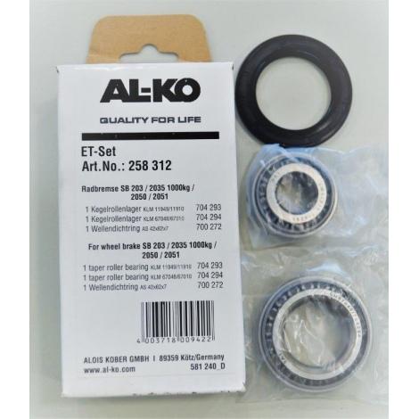 Kit de roulement conique Al-Ko pour frein 2050/2051