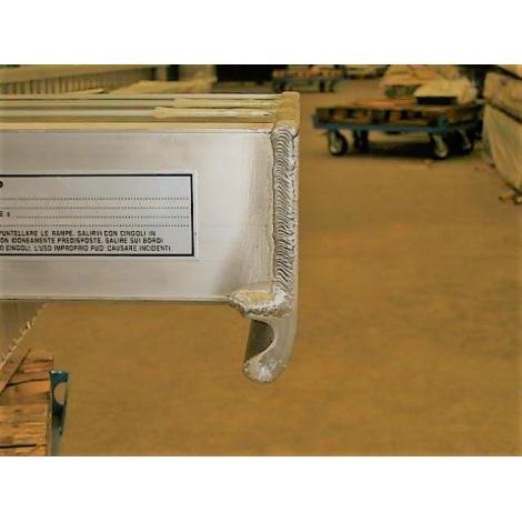 Tête A pour rampes de chargement en aluminium