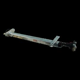 Essieu de remorque sans frein Knott 750-850-1350kg