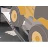 Rampes de chargement en aluminium – RM230 - 710 mm - 250 cm - 790 mm - RM230/25 - 14000 kg - 50 cm