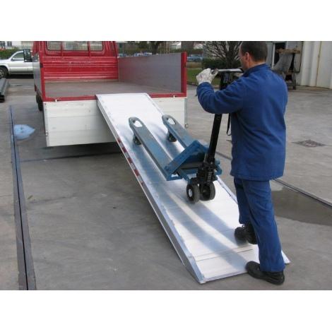 Rampes de chargement en aluminium – RMPC750