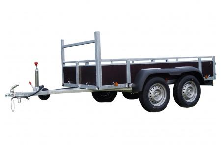 remorque double essieux costo. Black Bedroom Furniture Sets. Home Design Ideas